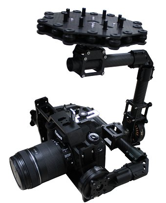 Multicopter Brushless Gimbal - 3 Axis