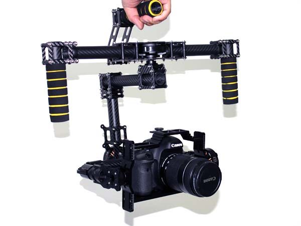 Handheld brushless gimbal